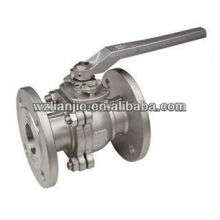 2PC Flanged Stainless Steel Ball Valve 150LB