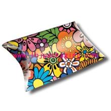 Gift Pillow Box Custom Paper Packaging Pillow Box