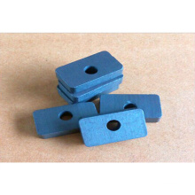 High Quality Cheap Block Ferrite Permanent Magnets with a Hole