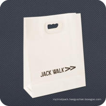 Custom Printed Paper Carrier Bag with Die Cut Handle