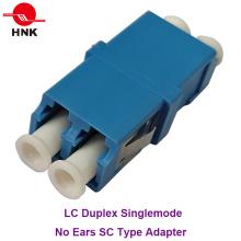 LC Duplex Singlemode Pas d'oreilles Sc Type Adaptateur fibre optique