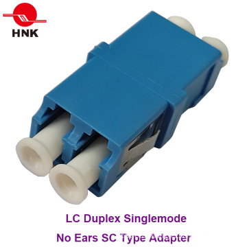 LC Duplex Singlemode No Ears Sc Type Fiber Optic Adapter