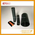 Tube thermo-rétrécissable de fermeture d'épissure de fibre optique de dôme