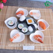 Taobao Высокое качество суши форме сердца блюдо / керамические блюда
