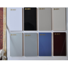 Weiße Farbe UV MDF Brett für Küche-Schrank-Möbel