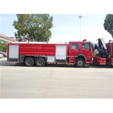 HOWO 6x4 10 ruedas camión contra incendios