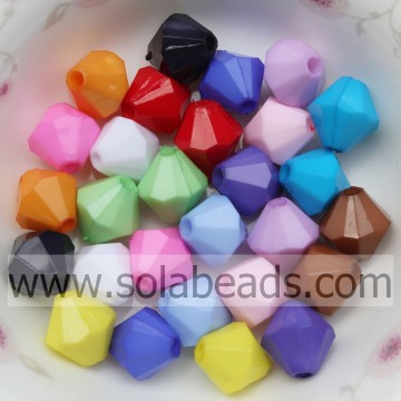 Lotto di 4mm Pony Beads in acrilico plastico 5301