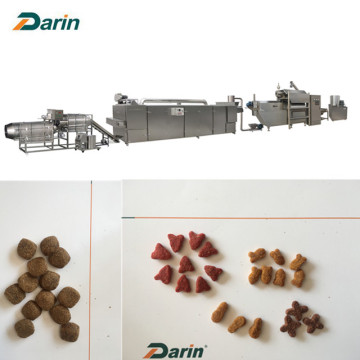 Machine d'extrusion d'aliments pour animaux de compagnie