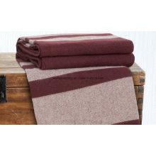 Woven Woollen Virgin Merino Wool Blanket