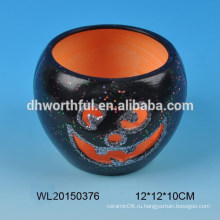 Хэллоуин подарок керамический подсвечник с новым дизайном