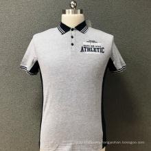 Men's cotton slim printed T-shirt