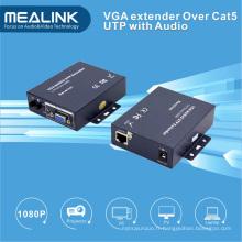 Extendeur VGA sur Cat5e UTP Câble 100m avec Auido