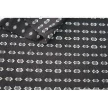 Tissu jacquard à clip multicolore en coton polyester
