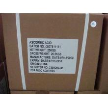 Pass ISO Certificate of Manufacture of 90% Ascorbic Acid (Vitamin C; VC)