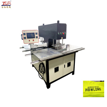 Automation Heating Embossing Machine Garment logo machine