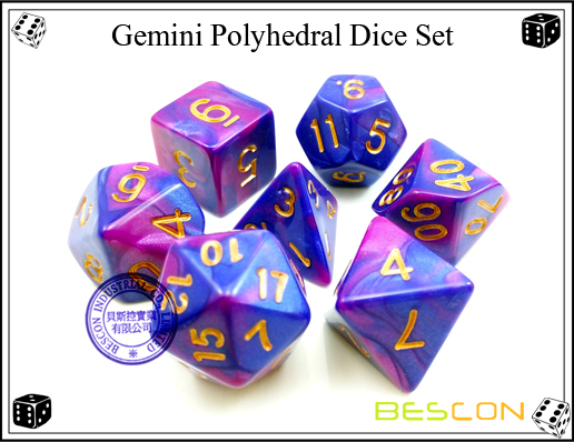 Gemini RPG Dice Set-8