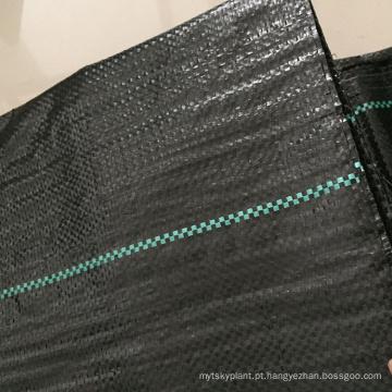 capa de solo preto agrícola pp tecido anti esteira de erva daninha
