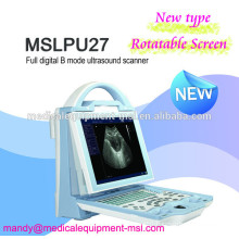 MSLPU27M New type portable ultrasound machine, Human / Animal software!