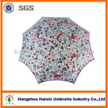 UV 3 Fach schöne japanischen Stil Geschenk voller drucken Regenschirm