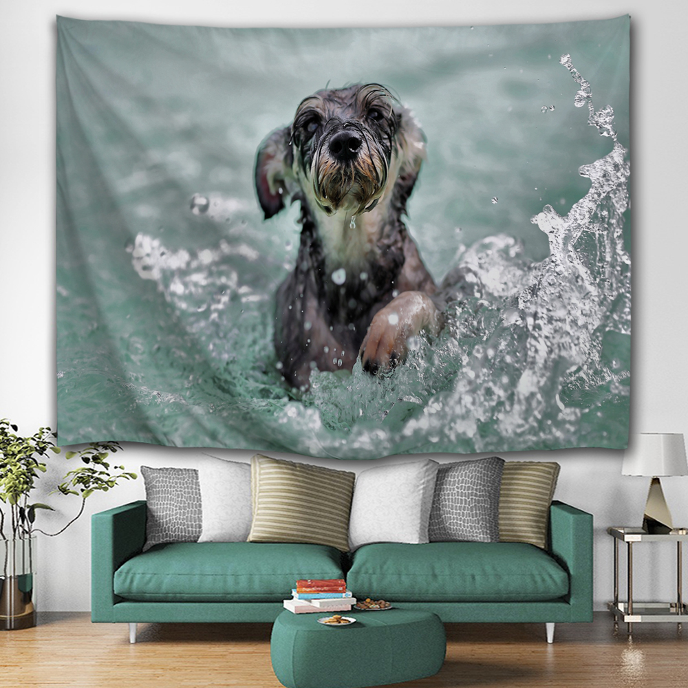 Dog In Water 2
