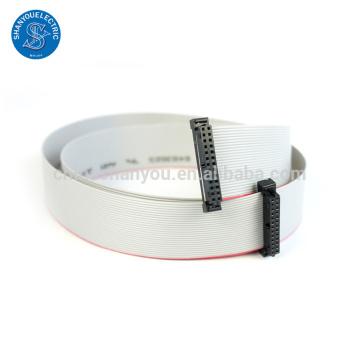 Conector hembra cable personalizado AWM 2651 IDC cable plano