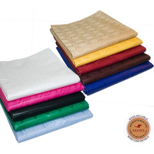 2017 Nouveau Africain Guinée Brocade Pour Femmes / Hommes Vêtements 100% Coton Jacquard Tissu