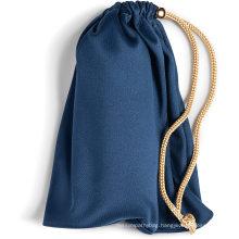High class reusable large satin pen drawstring bags jewelry
