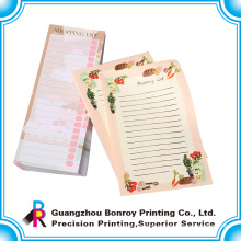 OEM competitive price sticky memo pad with free customized design