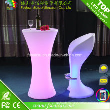 Светящий СИД высокий стол для отель/события/партии/ночной клуб
