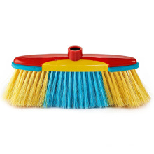Customized Design Colorful Plastic Myanmar Broom Head Broom Organizer