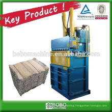 Used clothing compress machine