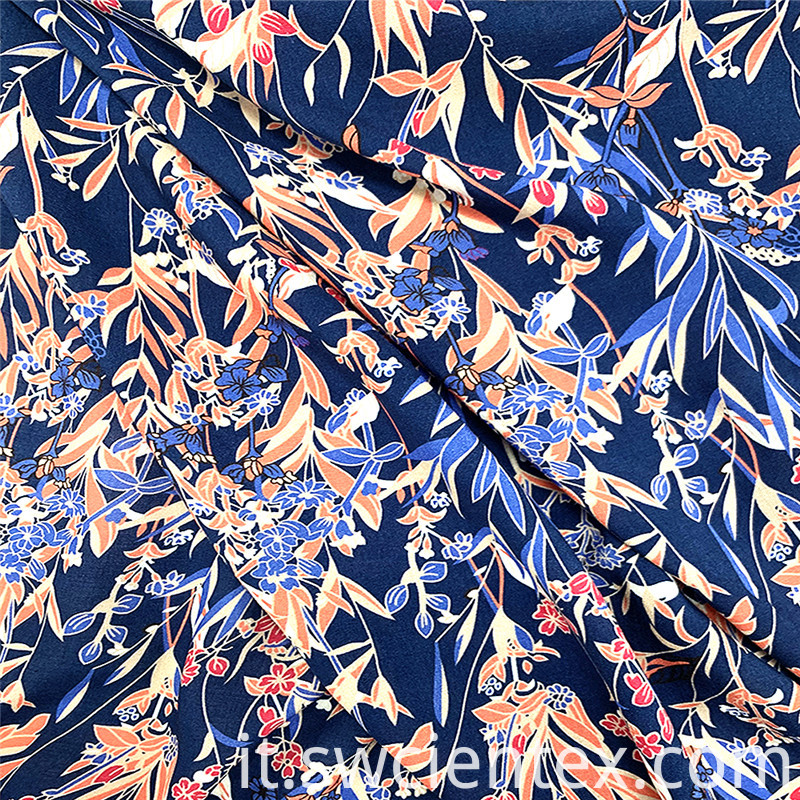 Fashion Floral Printing Rayon Fabric