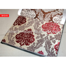 Tela de cortina feita sob encomenda do jacquard do estilo europeu na porcelana