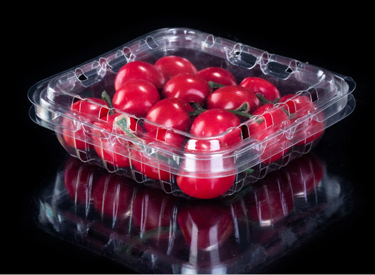 Plastic fruit container for fruit shop
