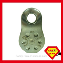HM H0703SS Certification en acier inoxydable CE 1019 EN12278 Métal Micro sécurité industrielle Poulie fixe