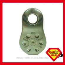 HM H0703SS Certificação de aço inoxidável CE 1019 EN12278 Metal Micro segurança industrial Polia lateral fixa