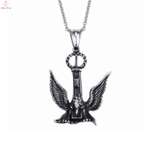2017 Mens Sliver Bird Pendant Necklace, Punk Eagle Stainless Steel Pendants Necklace Jewelry