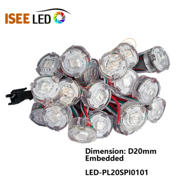 Luz de pared de video LED Matrix de 20 mm