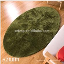 China Textilfabrik Schlafzimmer Produkt Mikrofaser Teppich Oval Teppich