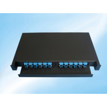 24 Fibers Slidable Rack-Mount Fiber Optic Distribution Frame