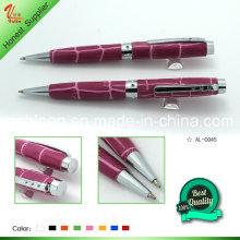 Красивая ручка для пера с металлической ручкой