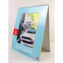 Custom Printing Fashion 2015 Calendario en 3D