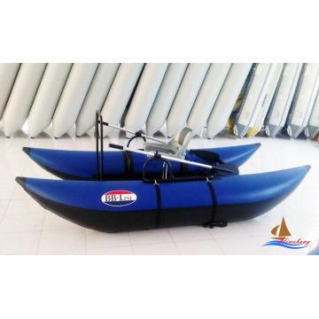 Barco inflável pontão barco de pesca com mosca