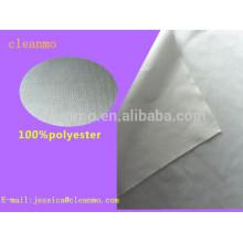 Essuie-glace non-tissé d'essuie-glace de nettoyage de salle blanche de 100% polyester de double pour essuyer le verre