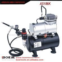 Airbrush Kompressor Kit mit 3L Tank