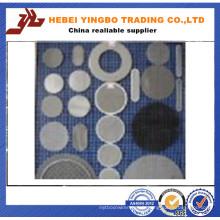 Écran de filtre en acier inoxydable largement utilisé Éléments de disque Mesh