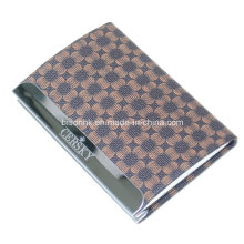 Promocionais Gift Leather Business Card Holder