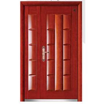 Новый Дизайн Высокое Качество Стали Древесины Бронированные Двери