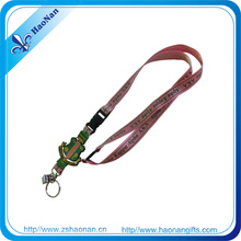 Werbeartikel Polyester Flach Sublimation Druck Lanyard