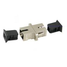 Sc-Sc Tipo de metal Adaptador de fibra óptica simple
